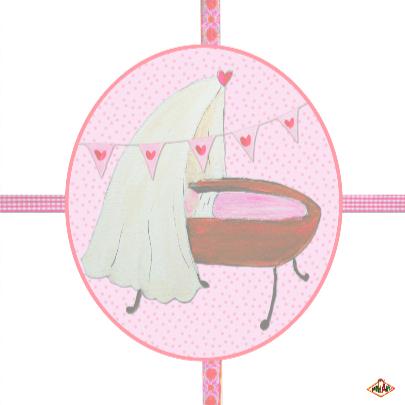 Felicitatie Geboorte Meisje PA 3
