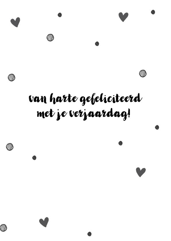 Felicitatie - happy birthday to you (roze) 3