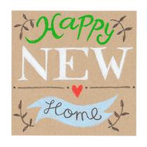 Felicitatiekaarten - Felicitatie, Happy new home