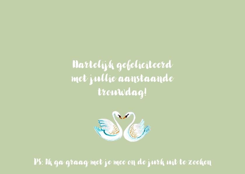Felicitatie Huwelijk Winkel Zwanen & Citroenen 3