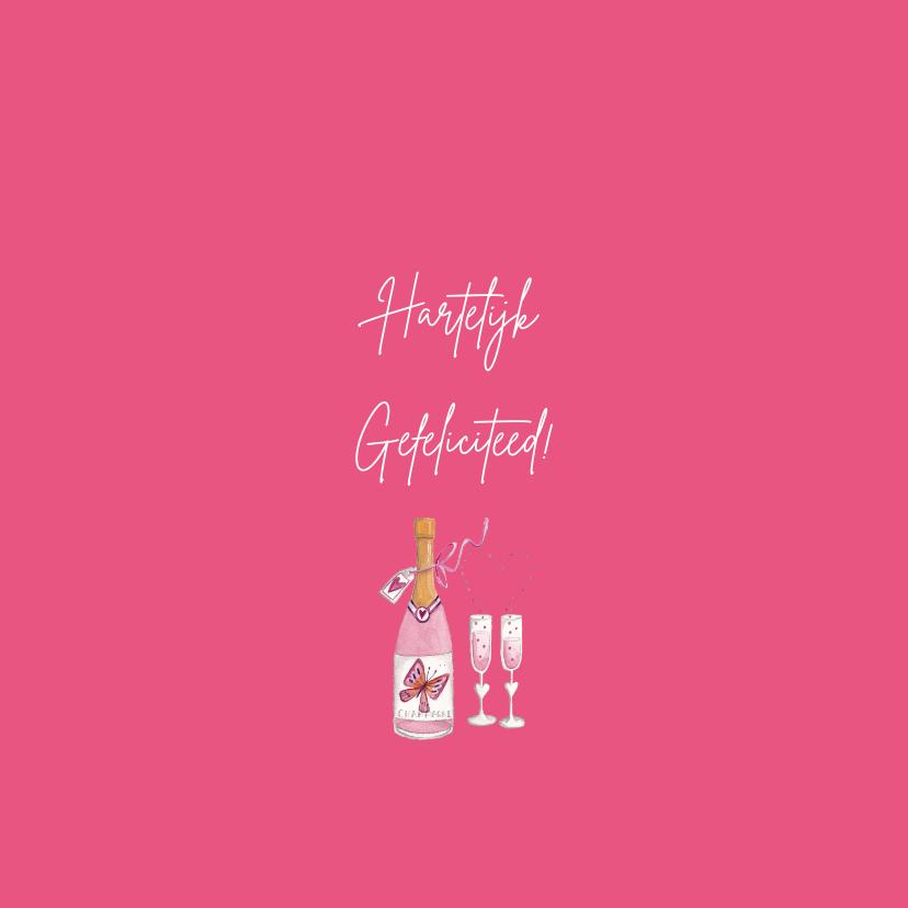 Felicitatie Huwelijksjubileum Champagne 3