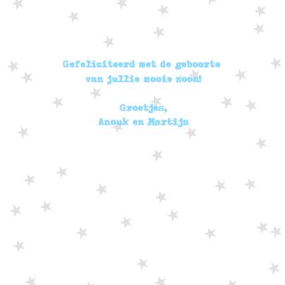 Felicitatie Jongen Letterslinger 3