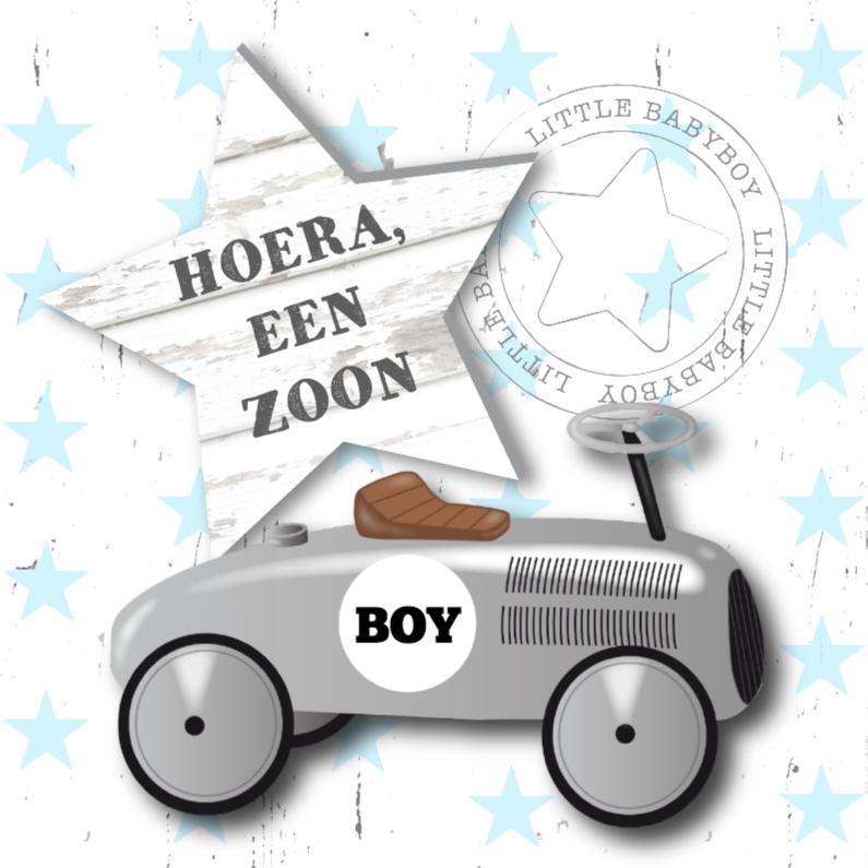 Citaten Geboorte Zoon : Felicitatie jongen loopauto felicitatiekaarten kaartje go