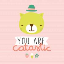 Felicitatiekaarten - Felicitatie Katje