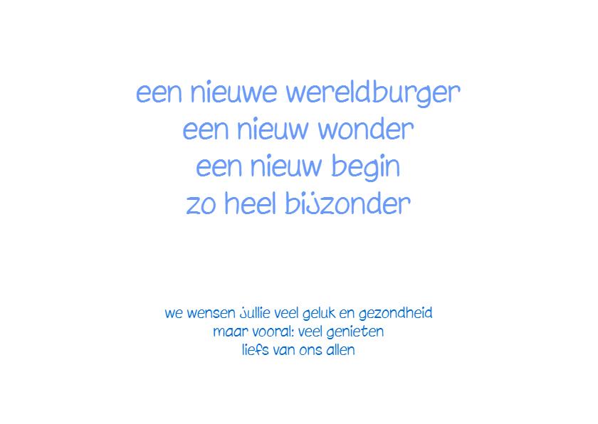 Felicitatie lentewonder - AW 3