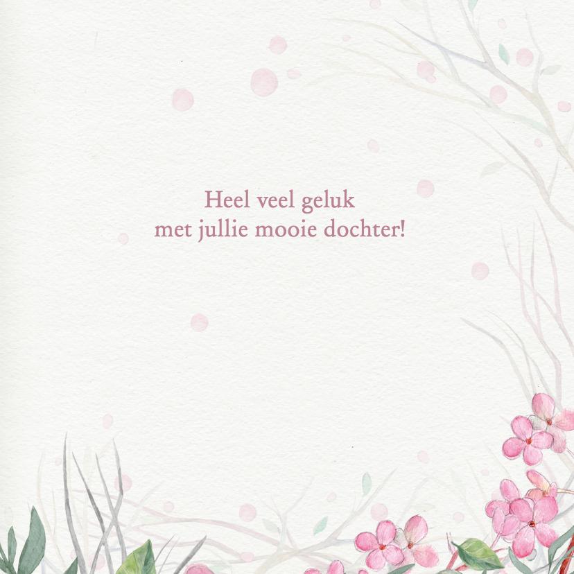 Felicitatie meisje -ei- 3
