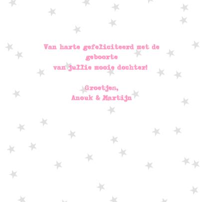 Felicitatie Meisje Letterslinger 3