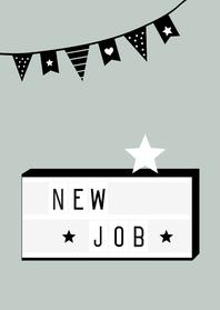 Felicitatiekaarten - Felicitatie-New job Lightbox
