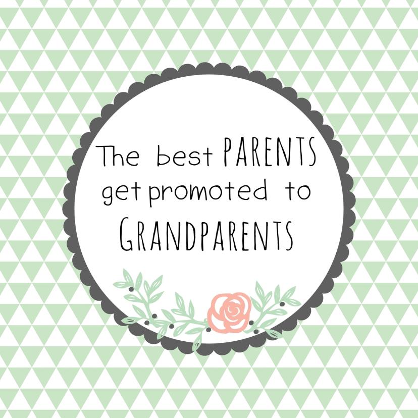 Favoriete Felicitatie Opa& Oma worden | Kaartje2go @EO44