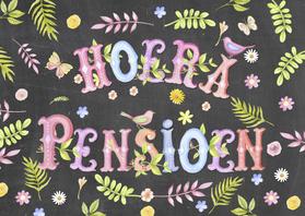 Felicitatiekaarten - felicitatie pensioen tekst