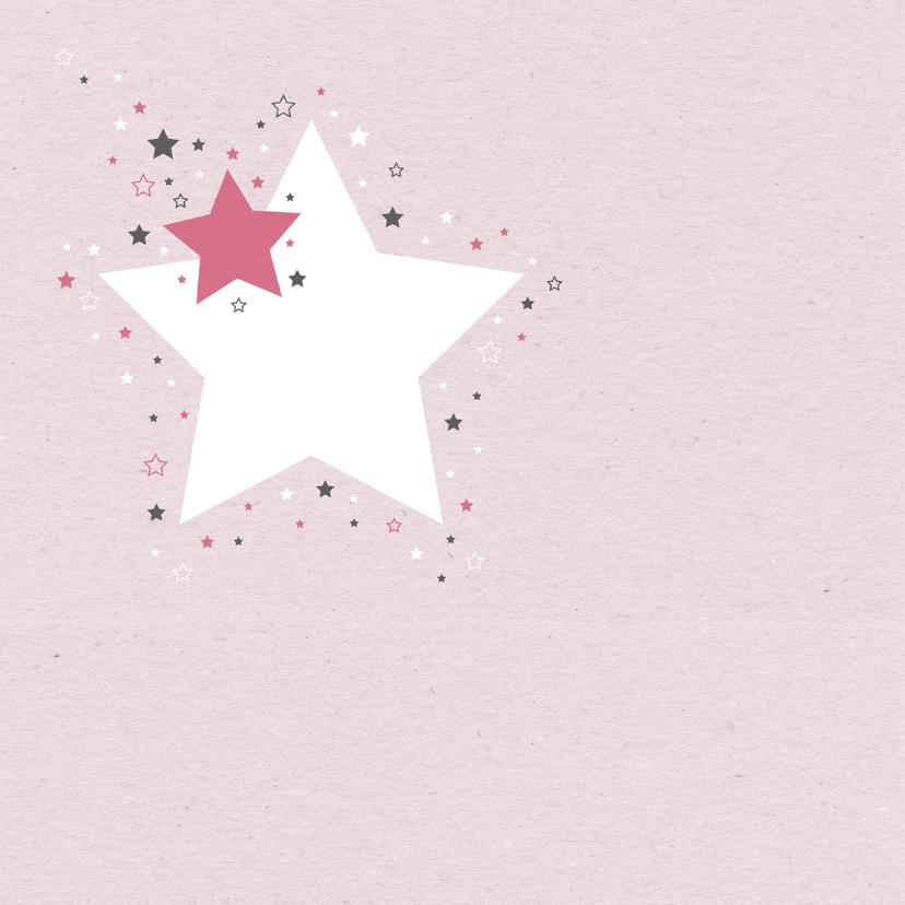 Felicitatie - Sterren meisje 2