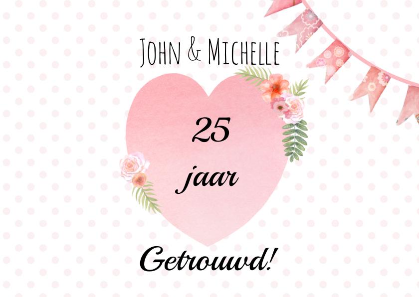 Felicitatie trouwdag hart 2
