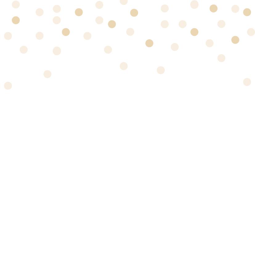 Felicitatie trouwen Dots - HB 3