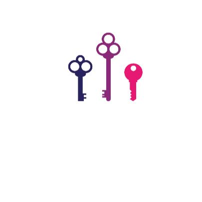 Felicitatie woning sleutels 2 3