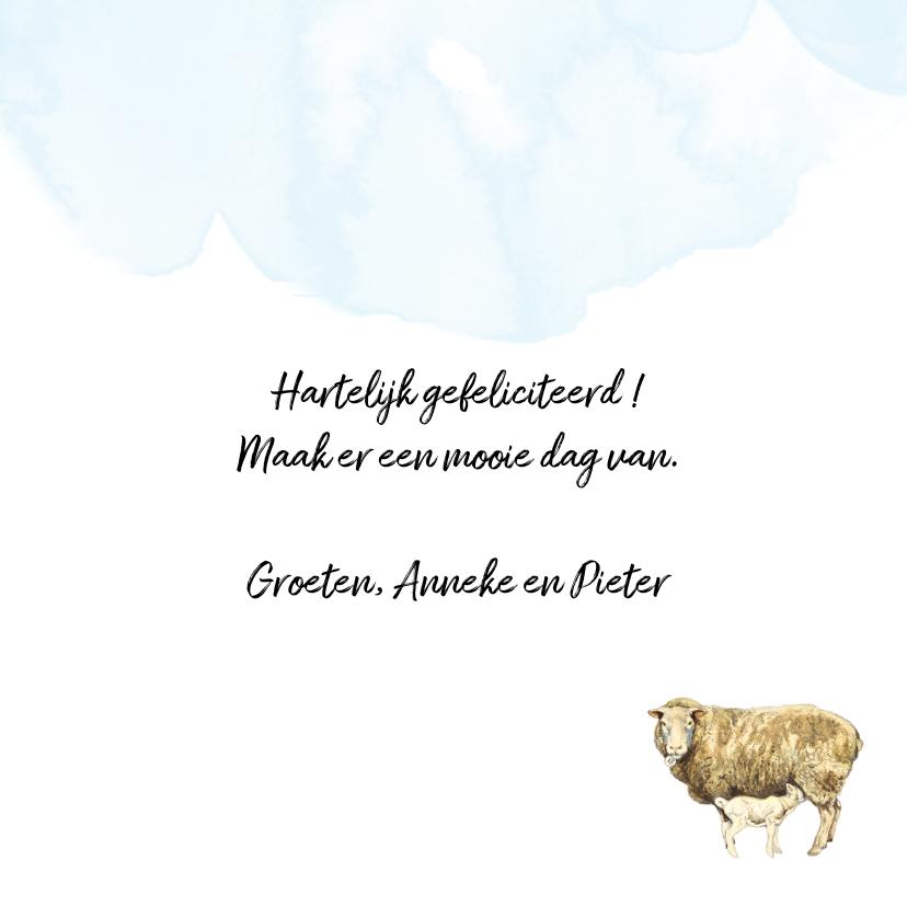 Felicitatiekaart Boerderij Geniet van deze dag 3