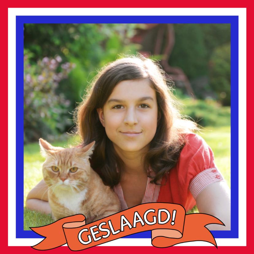 Felicitatiekaart geslaagd met eigen foto   Geslaagd kaarten   Kaartje2go