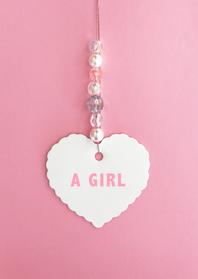 Felicitatiekaarten - felicitatiekaart hart lief roze