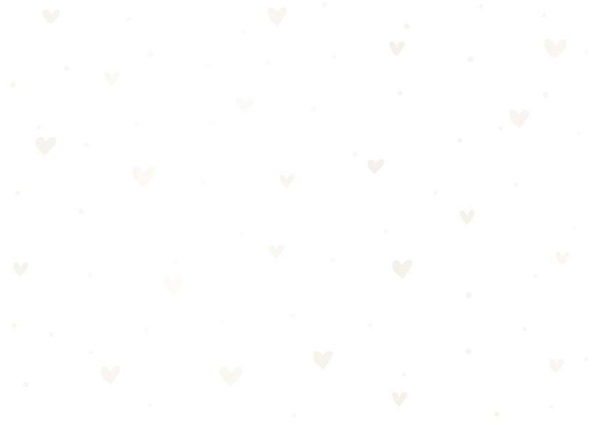 Felicitatiekaart 'Hoera een meisje' met hartjes en waterverf 2