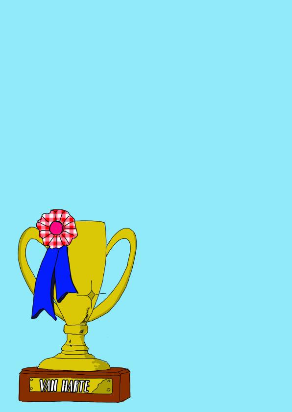 Felicitatiekaart kampioen PA 2