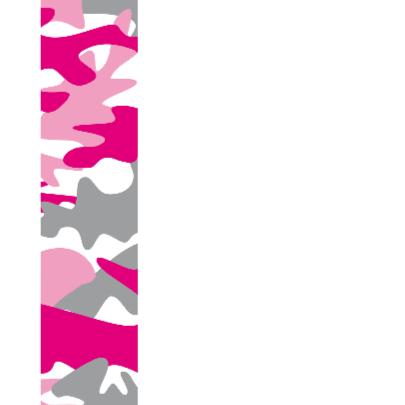 Felicitatiekaart leger roze 2