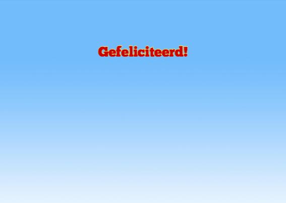 Felicitatiekaart met blaasband om iemand te feliciteren 3