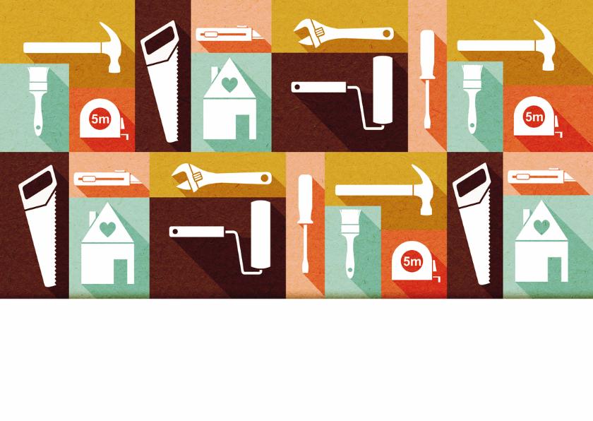 Felicitatiekaart nieuwe woning icoon 2
