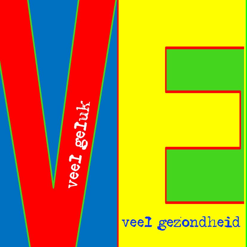 Felicitatiekaart Veeel - AW 2