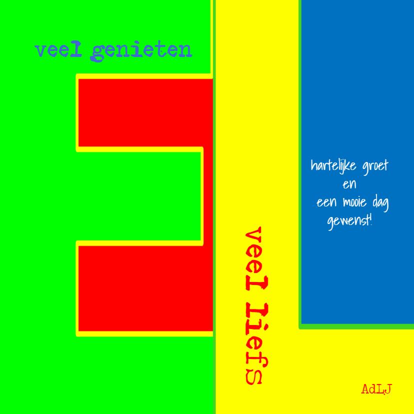Felicitatiekaart Veeel - AW 3