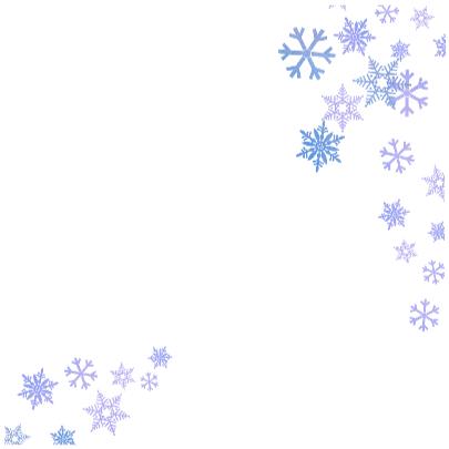 Fijne Feestdagen Sneeuwkristal 3