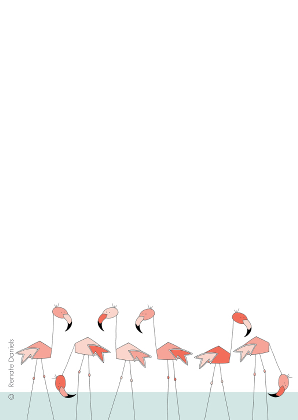 Flamingo familie 2