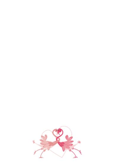 Flamingo is verliefd 2