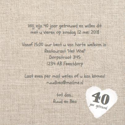 Foto jubileumfeest 40 jaar hart linnen 3