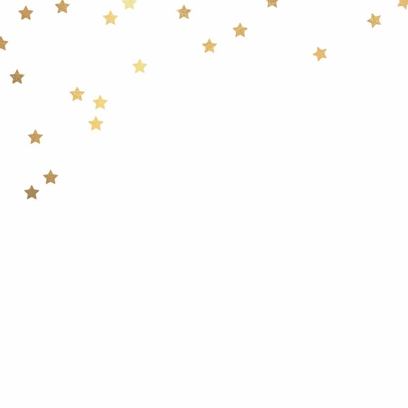 Foto kerstkaart ster rood 2