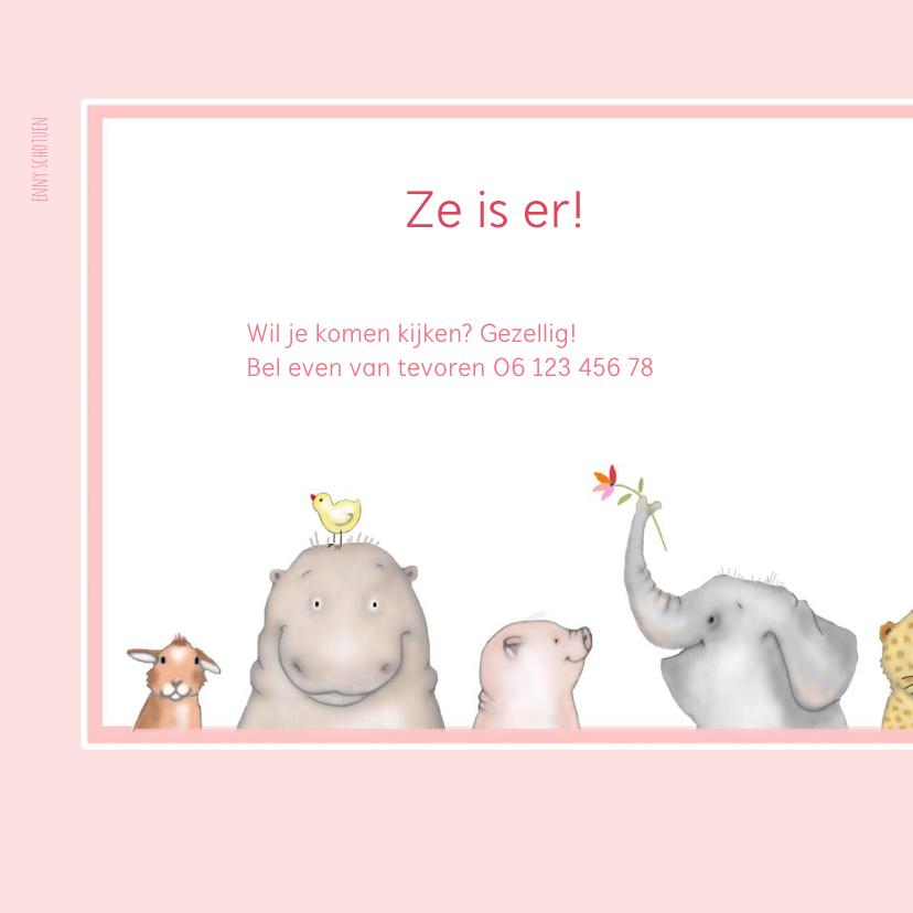 Geboorte Baby diertjes meisje 2