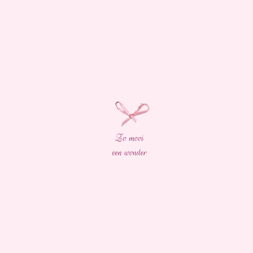 Geboorte - Bloemen, hart, strik 2