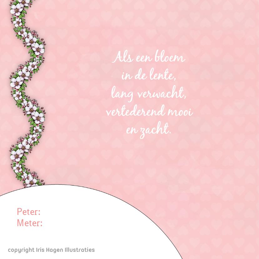 Geboorte bloesem lente - IH 2