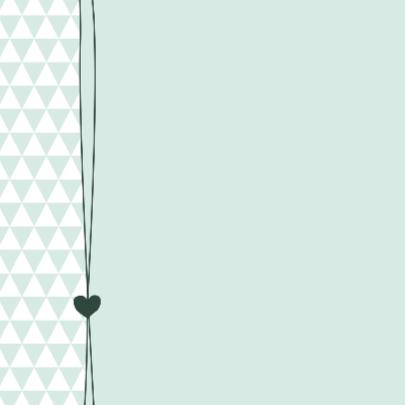 Geboorte, Fotokaart met driehoeken 2