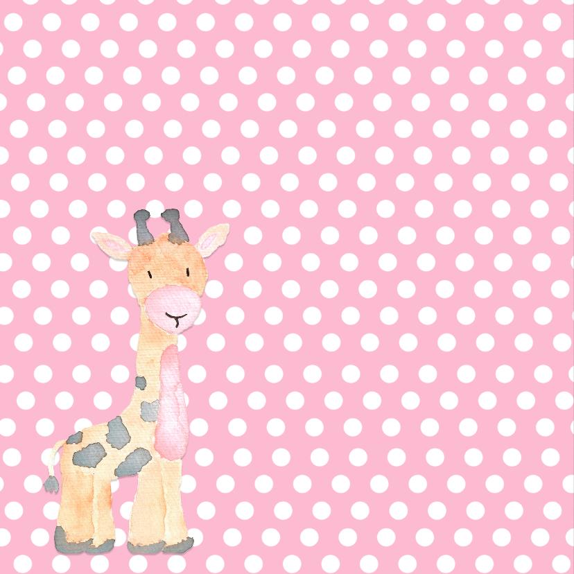 Geboorte giraf stippen - DH 2