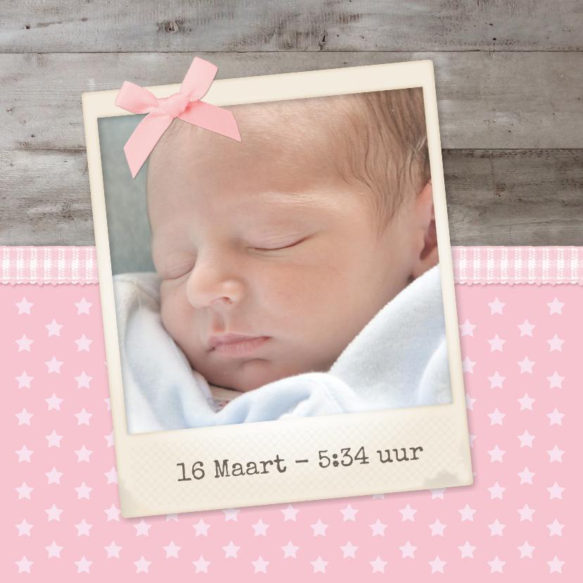 Geboorte Hout Lief Sterretjes 2