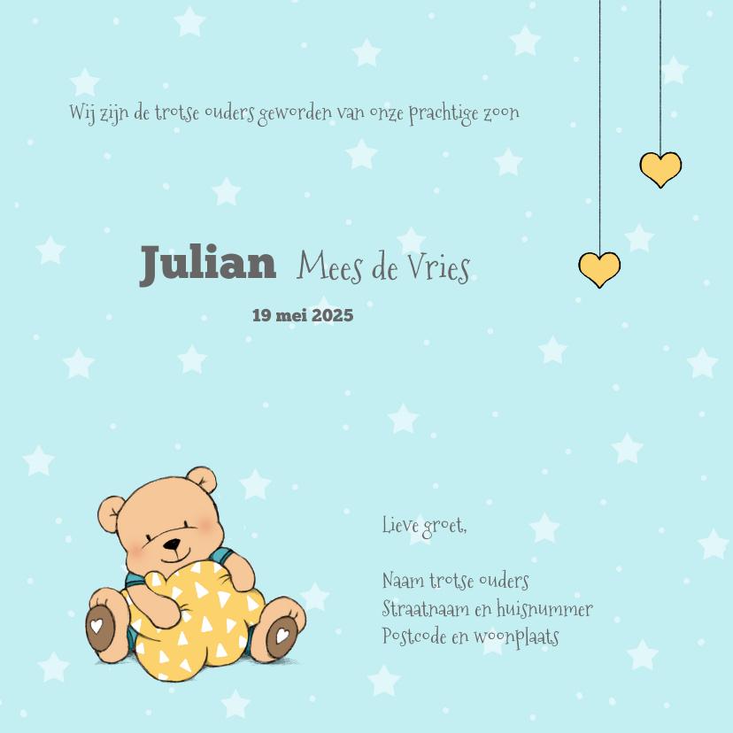 Geboorte jongen beer in wolk IH 3