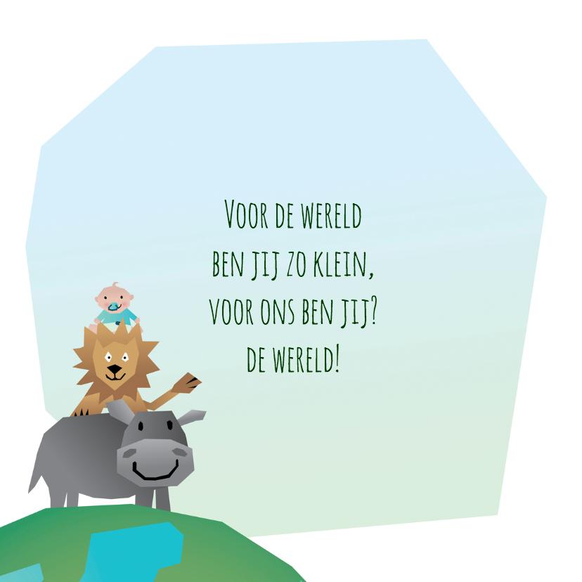 Geboorte jongen - Dierenwereld 2