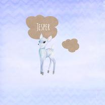 Geboortekaartjes - Geboorte jongen hertje