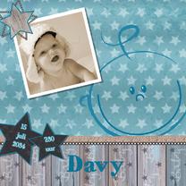Geboortekaartjes - Geboorte jongen lief en stoer B