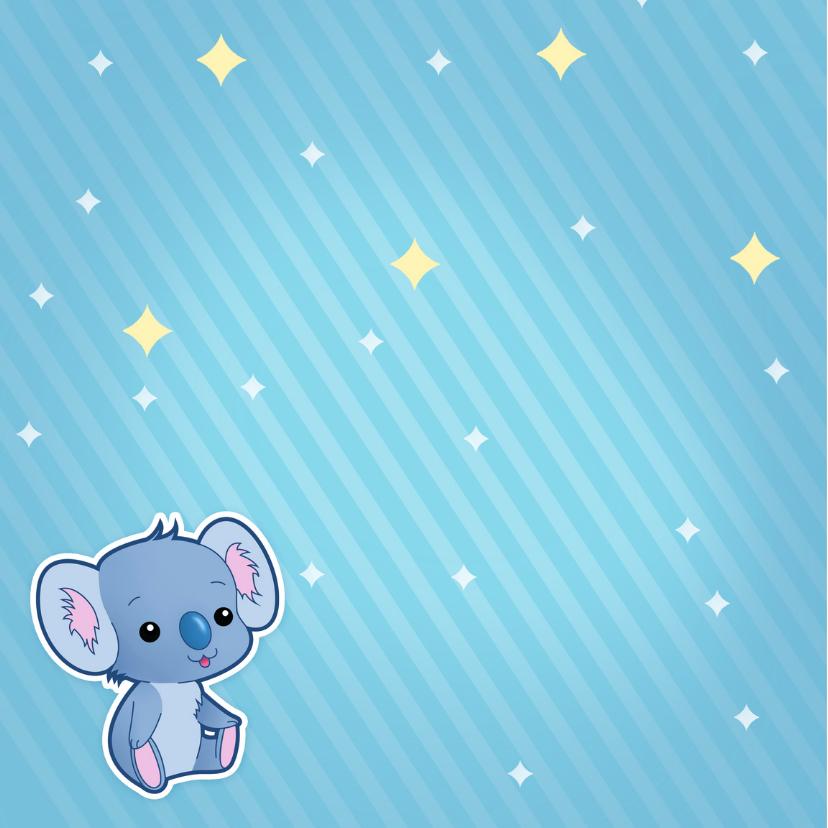 Geboorte Jongen Lief Koala Beertje 2