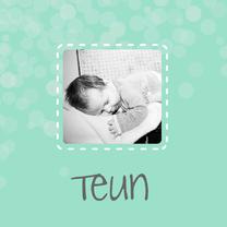 Geboortekaartjes - Geboorte Jongen Teun