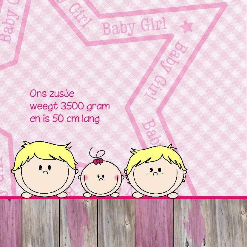 geboorte jongens blond en zusje 2