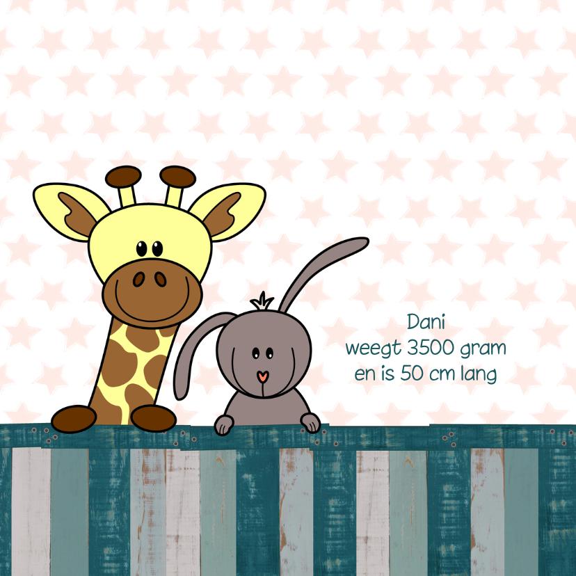 geboorte lief dieren hout 2