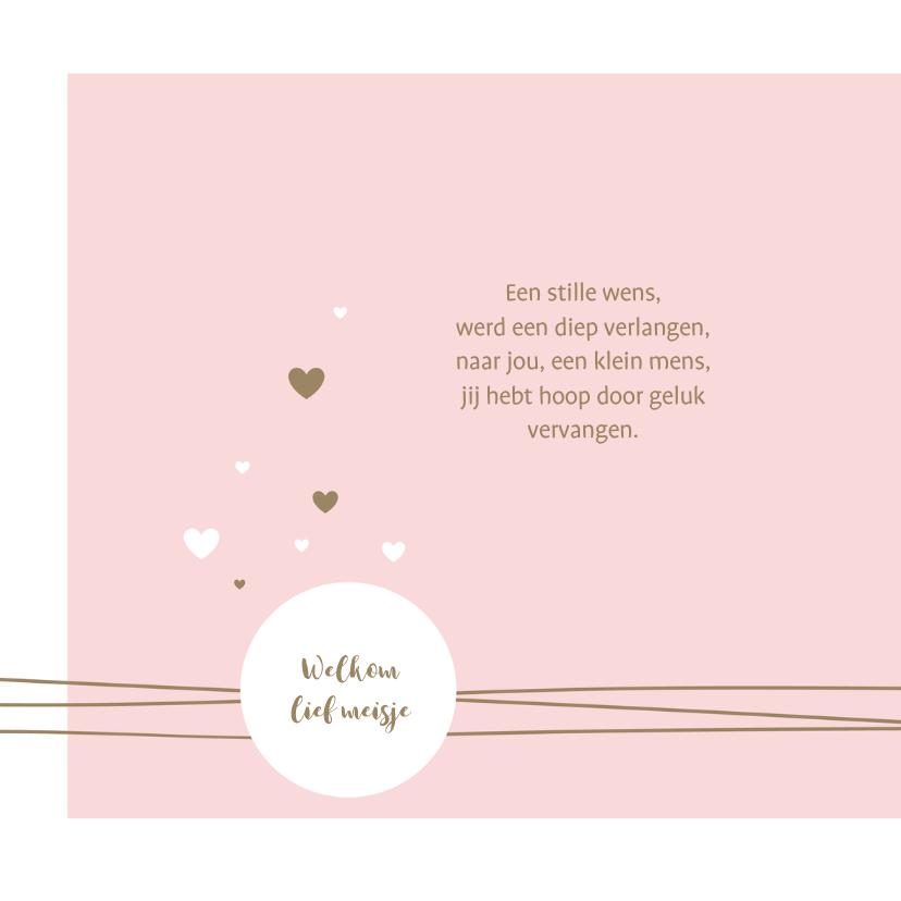 Geboorte - Lijnen, cirkel en harten 2