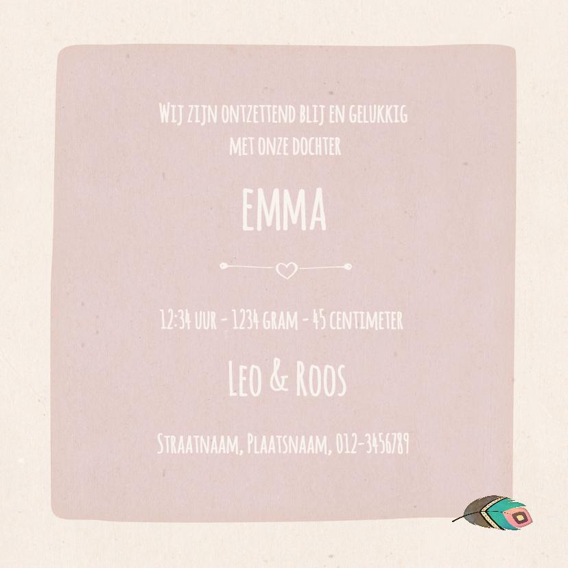 Geboorte luiaard roze - BK 3