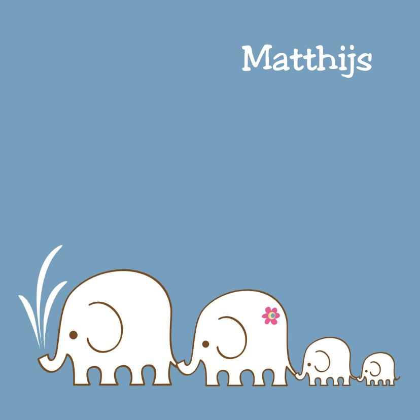 Citaten Geboorte Zoon : Geboorte olifant tweede zoon pf geboortekaartjes